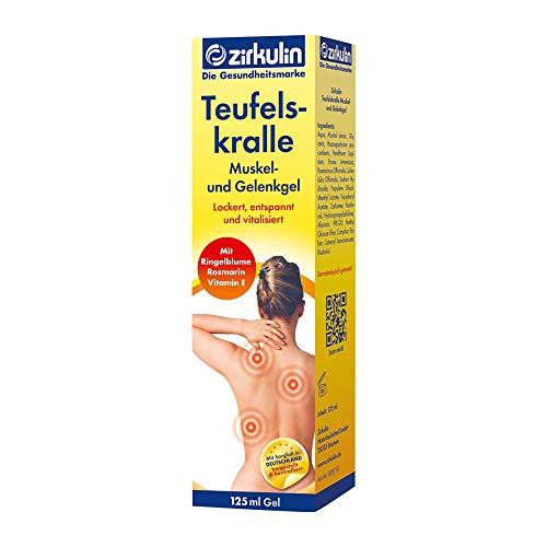 Zirkulin Teufelskralle Muskel- und Gelenkgel, 125 ml