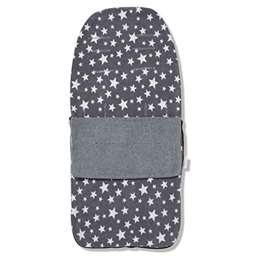 FYLO Snuggle Summer Footmuff Compatible with Venicci Travel System - Grey Star