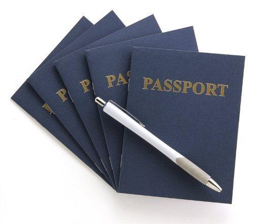 Hygloss Products Inc Carnet de passeport 24 pages 11,4 x 14 cm