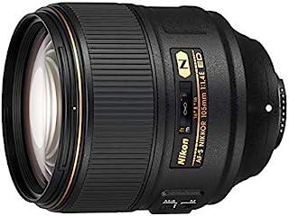 Nikon AF-S NIKKOR 105mm f/1.4E ed Obiettivo a Lunghezza Focale Fissa, Formato FX, Nero [Nital Card: 4 Anni di Garanzia]
