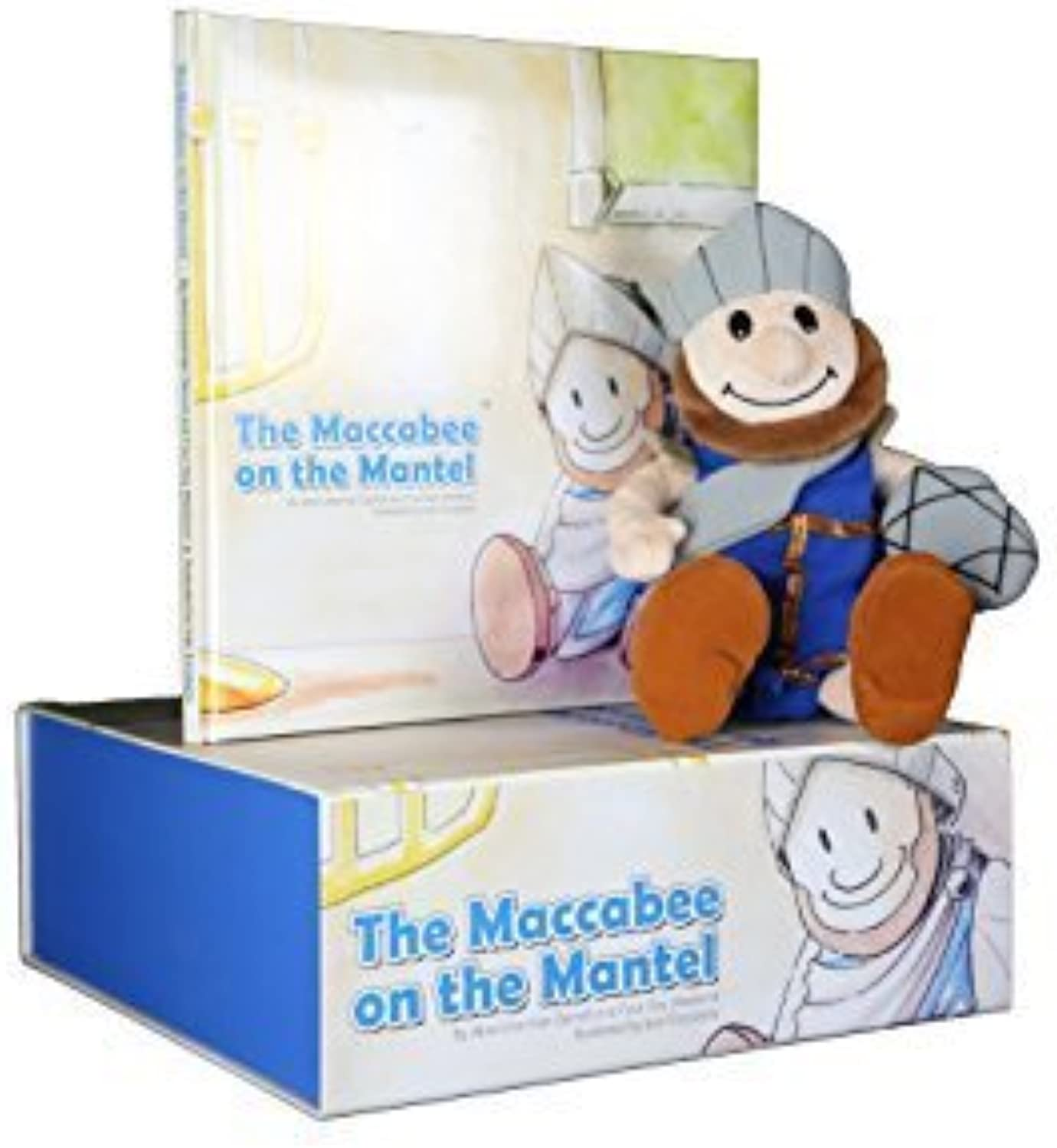 Maccabee on the Mantel Book and Plush Gift Box Set by Maccabee on the Mantel