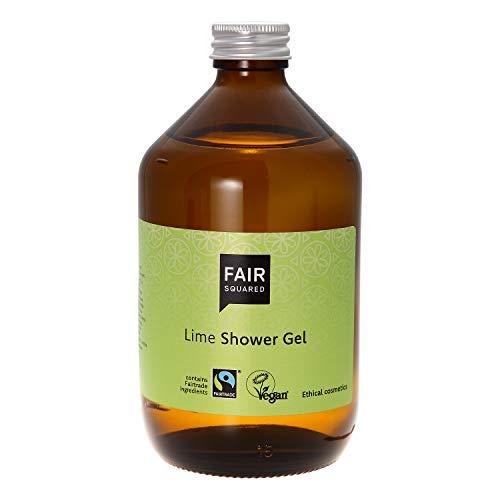 FAIR SQUARED Shower Gel Lime 500ml Duschgel Limette ZERO WASTE, zertifizierte Naturkosmetik
