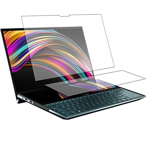 """Vaxson TPU Pellicola Privacy, compatibile con ASUS ZenBook Pro Duo UX581GV + ScreenPad Plus 15.6"""", Screen Protector Film Filtro Privacy [ Non Vetro Temperato ]"""