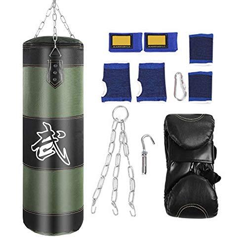 VGEBY1 Saco de Boxeo, Guantes de Boxeo MMA Muay Thai Kick Bo