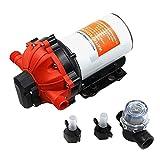 Bomba de Agua Marina de 12 V, Bomba de presión de Agua autocebante con acoplamientos rápidos embarcaciones RV