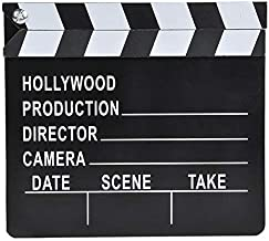 Rhode Island Novelty 7 Inch x 8 Inch Hollywood Movie Clapboard, One Per Order
