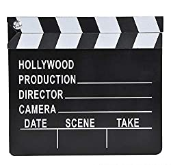 Rhode Island Novelty 7″x 8″ Hollywood Movie Clapboard