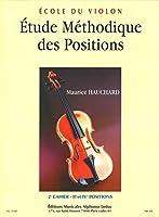 Hauchard : étude méthodique des positions volume 2 : 2e et 4e positions - violon