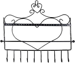 Nordic Artigianato Trucco Rack per Gioielli gabinetto Montato a Parete Scatola di Gioielli Casella Cosmetici Appeso stocca...