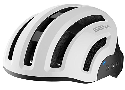Sena Smart Fahrradhelm, X1, White, Größe L