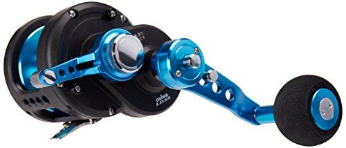 Daiwa Saltist Lever Drag 2-Speed 6.3:1/3.1:1 Right Hand Conventional Fishing Reel - STTLD35-2SPD,Black