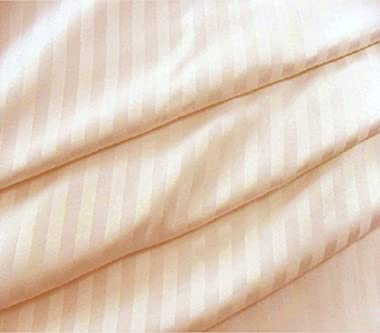 "Lasin Bedding, Luxury Soft 100% Cotton, Duvet Cover, Hidden Zipper Closure, Peach, Twin 68"" x 86"""