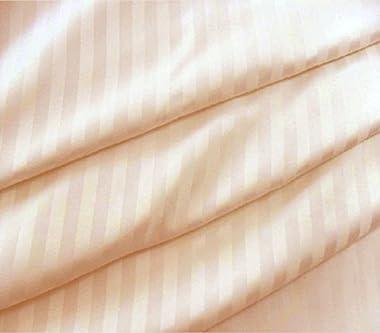 "Lasin Bedding, Luxury Soft 100% Cotton, Duvet Cover, Hidden Zipper Closure, Peach, Twin 68"" x 86"""