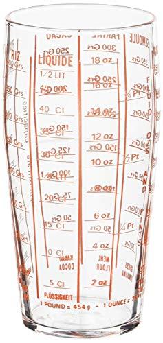 Luminarc 1031895 - Vaso de medición, transparente, 8 cm