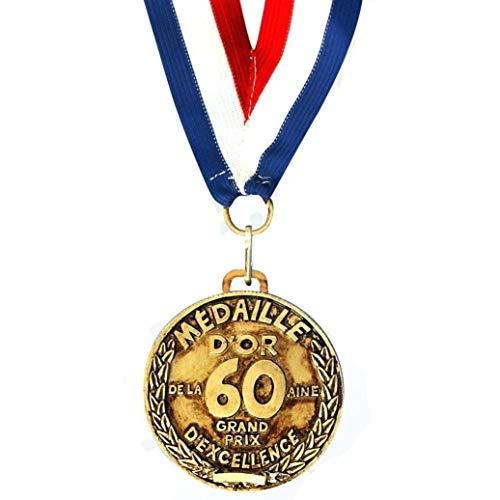 SUD Médaille d'Or des 60 ans