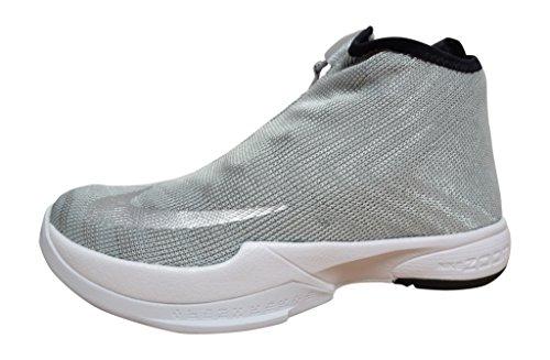 Nike Zoom Kobe Icon JCRD PRM, Zapatillas de Baloncesto para Hombre, Plateado (Mtllc Slvr/Mtllc Slvr-White-Bl), 41 EU