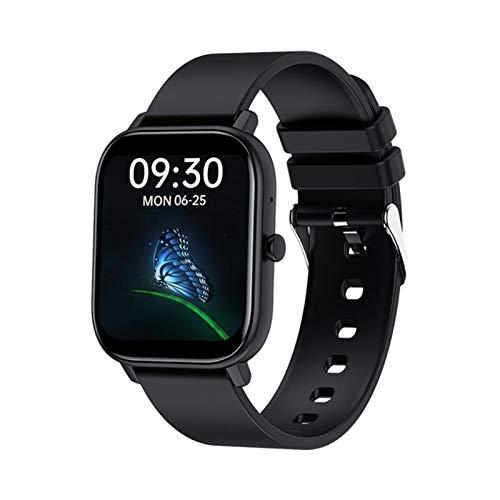 LDJ GW22 Waterproof Smart Watch, Masculina Y Femenina Llamada Bluetooth De 1.6 Pulgadas Pantalla De Ritmo Cardíaco Y Presión Arterial, Pulsera De Monitoreo De La Salud para Android iOS,D