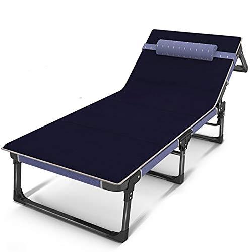BLWX - Vouwbare Stoelopvouwbare Vellen Mensen Thuis Kantoor Lunch Break Eenvoudige Onzichtbare Multifunctionele Lounge Stoel Marching Beach Nap Bed Vouwstoel