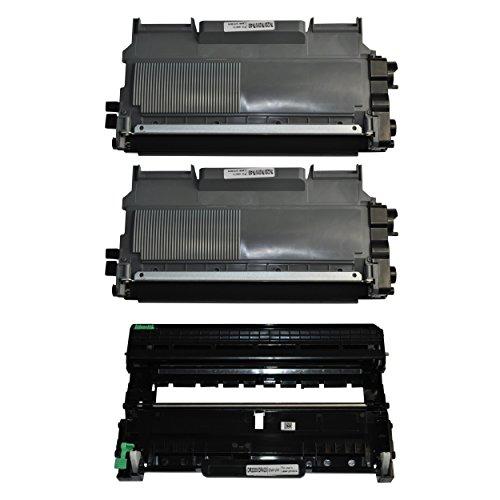 3Color® tóner para Brother HL-2240HL-2240D HL-2250DN, HL-2270DW DCP-7060D DCP-7065DN DCP-7070DW, MFC-7360N MFC-7460DN MFC-7860DW FAX-2840FAX-2845de 2940 2x Toner + 1x Trommel