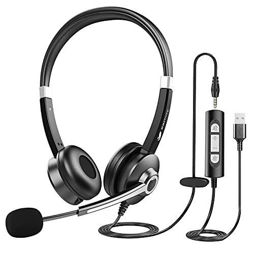 Computer-Headset mit Mikrofon für...