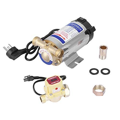Bomba de agua inoxidable, 10L / min, pequeña distancia, equipo de temperatura del agua inestable, freno de potencia, metal hecho para tubería de agua del grifo