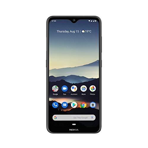 Nokia 7.2 Smartphone - Deutsche Ware (16cm (6,3 Zoll), 64GB Interner Speicher, 4GB RAM, Dual-SIM, LTE) Charcoal