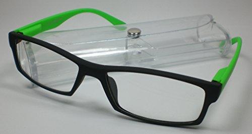 Chique leesbril leeshulp +1,0 diop. groen voor hem en haar