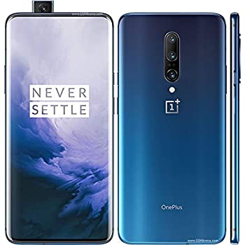 OnePlus 7 Pro GM1915 256GB T-Mobile GSM Unlocked - Nebula Blue (Renewed)