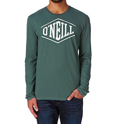 O'NEILL LM Easy Life t-Shirt pour Homme t-Shirt à Manches Longues S Vert - Vert