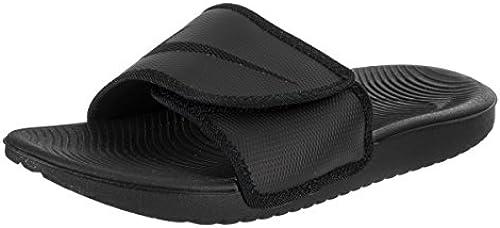 NIKE Men& 039;s Kawa Adjust schwarz schwarz Sandal 9 Men US