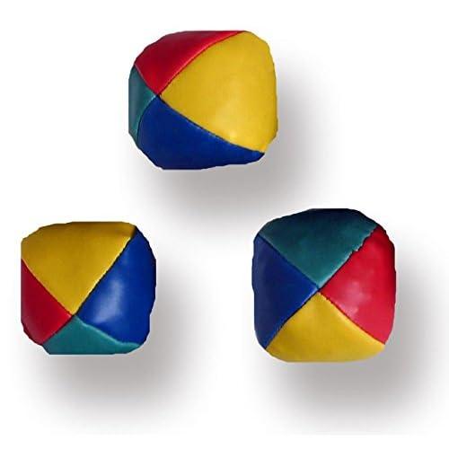 WB - Set con 3 palline da clown, per giocoleria