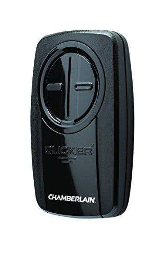 CHAMBERLAIN CORP – Garage Door Opener, Universal Remote Control, Black