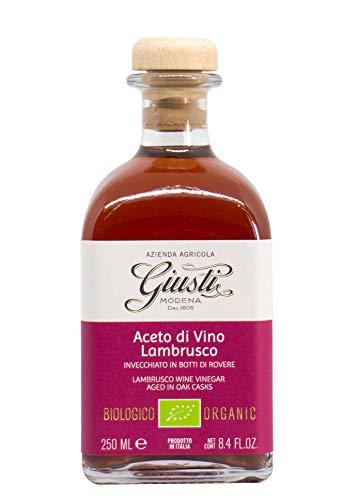 Giusti - Vinagre de Vino Tinto Ecológico Monovitigno - Lambrusco 250 ml