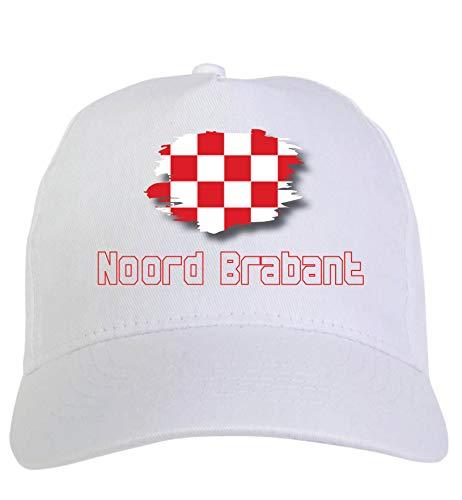 Typolitografie Ghisleri Cap wit Noord Brabant Holland vlag klittenbandsluiting 125