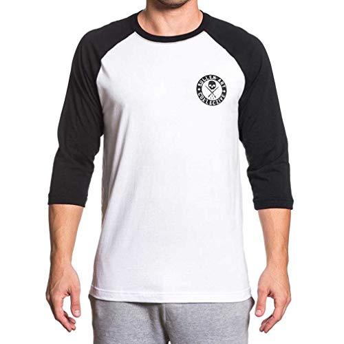 Sullen Clothing 3/4-Arm Raglan Shirt - Badge of Honor M