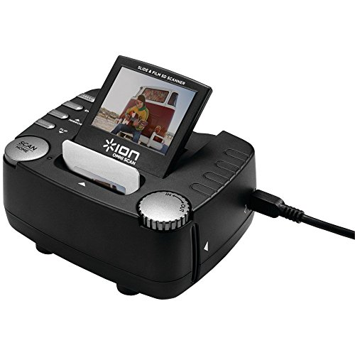 Great Features Of ION OMNI SCAN Stand-Alone Image and Slide Scanner (Renewed)