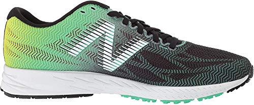 New Balance M1400V6, Zapatillas de Running para Hombre, Negro (Black/Green Black/Green), 45 EU