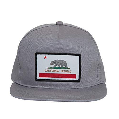 Knuckleheads Clothing Baby Boy Infant Trucker Sun Hat Toddler Mesh Baseball Cap Cali Grey XS 43 cm 6 to 12 Months