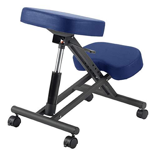ESGT Silla de rodillas con altura ajustable, ergonómica, silla de oficina para el hogar y la oficina, mejora de la postura