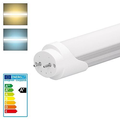 ECD Germany LED Leuchtstoffröhre T8 G13-90 cm - 14W - SMD LED Tube - 1150 Lumen - Warmweiß 3000K - für T8 Rasterleuchte Bürolampe Deckenleuchte - Röhre Leuchte Lampe Neonröhre Ersatz