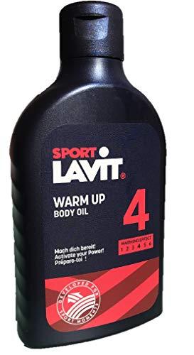 SPORT LAVIT® Warm Up Body Oil 250ml Sportöl aktiv Aufwärmöl