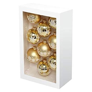 glass christmas ornaments balls