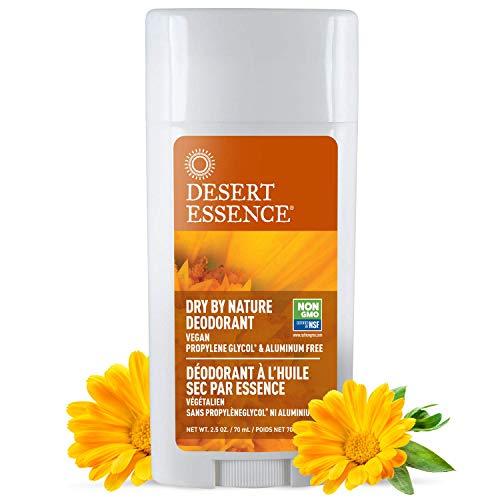 Desert Essence Déodorant Dry By Nature aux huiles essentielles de camomille et de souci - 80 ml