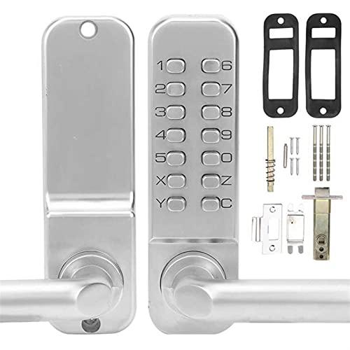 LJGFH Door lock Smart Mechanical Door Lock Non-Power Anti-Theft Safety Home Entry Access Digital Password Door Lock Sturdy