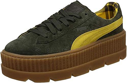 Puma Cleated CreeperSuede W 801 Damen Sneakers (41, ROSIN-LEMON-VANILLA ICE)