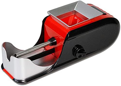 Deals® Máquina de rellenar cigarrillos grande para tabaco con papel de liar automático con boquilla ajustable