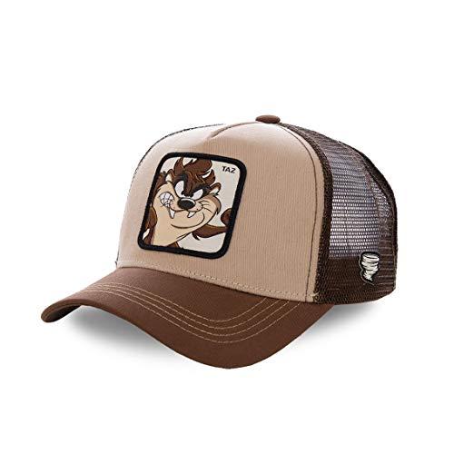 Capslab Taz Trucker Cap Looney Tunes Brown - One-Size