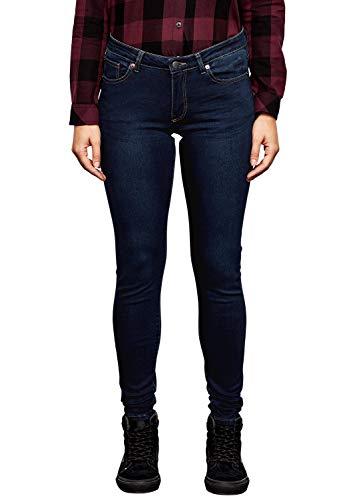 Q/S designed by - s.Oliver Damen 45.899.71.0480 Skinny Jeans, Blau (Blue Denim, Heavy Stone W 58z6), 42W / 34L
