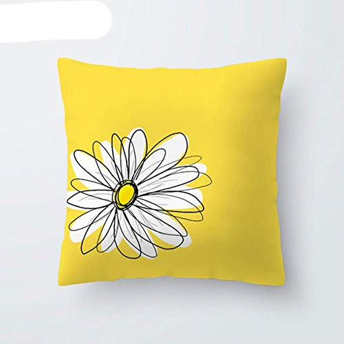 Yellow Diamond Wave Cushion Covers Geometric Throw Pillow Case for Home Chair Sofa Decoration Square Pillowcases 2020 Home Decor-11