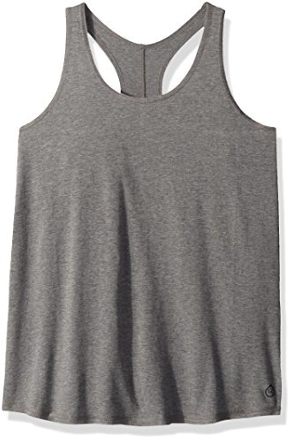 tasc Performance Loose Fit Racer Tank Heather Gray X-Small [並行輸入品]